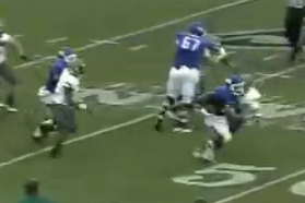 Video: Buffalo's Branden Oliver Leaves Defenders with Sick Juke on TD Run