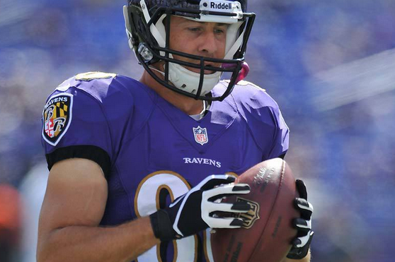 Ravens Cut Brandon Stokely, Re-Sign Billy Bajema