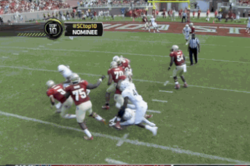 Florida State's Jameis Winston Makes Incredible Play for TD