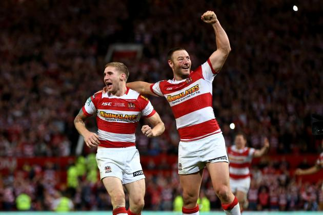 Wigan Warriors vs. Warrington Wolves: Score & Report for Super League Final