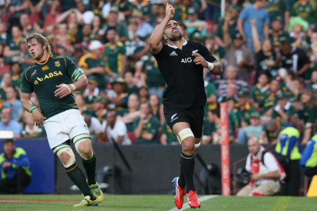 South Africa vs. New Zealand: Score, Recap and More for Rugby Union Championship