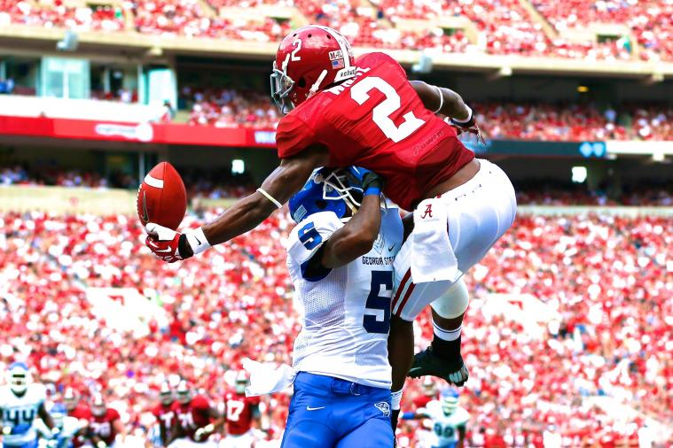 Alabama WR DeAndrew White Makes Filthy One-Handed TD Catch