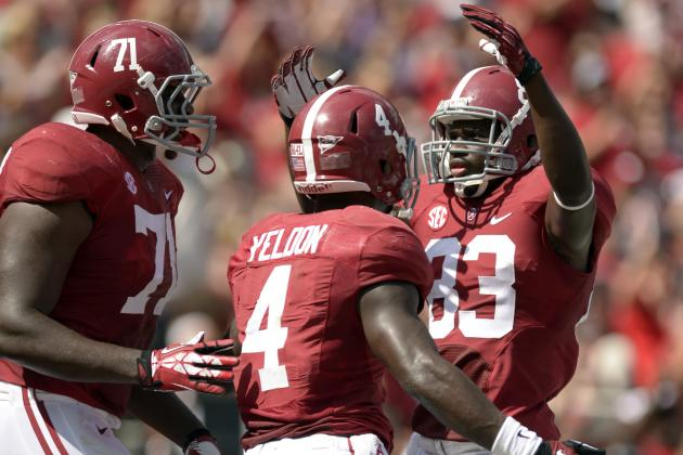 TJ Yeldon Didn't Improve Heisman Chances in Win over Georgia State