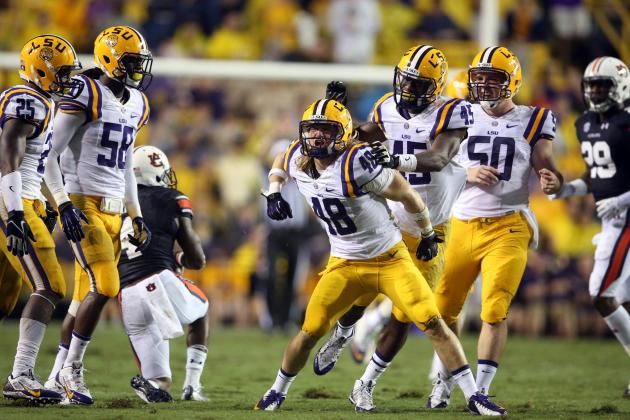 LSU vs. Mississippi State: Live Game Grades and Analysis for the Tigers