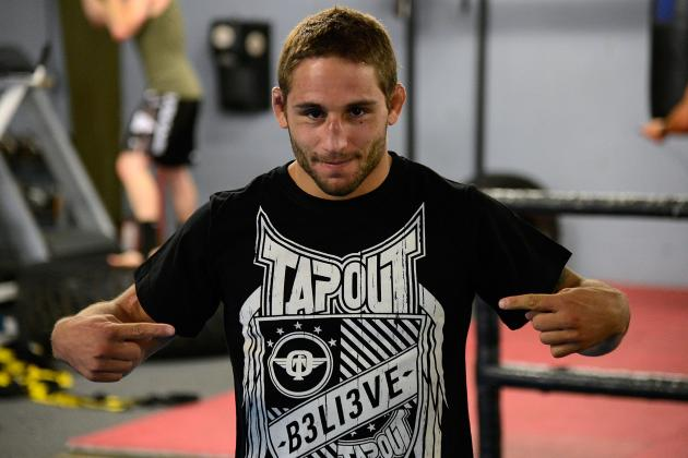 Chad Mendes Shows off His Crazy Athleticism with Push-Up Tricks