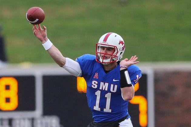 Garrett Gilbert's 7 TDs Aren't Enough to Power SMU Past Rutgers in 3OT