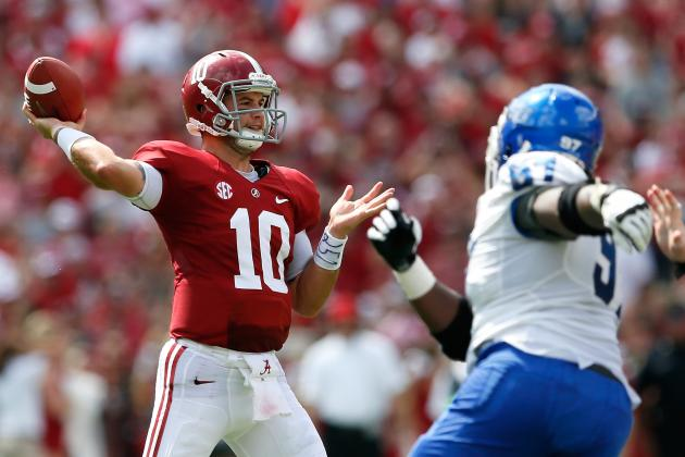 Alabama QB AJ McCarron Breaks Ken Stabler's 47-Year-Old Record