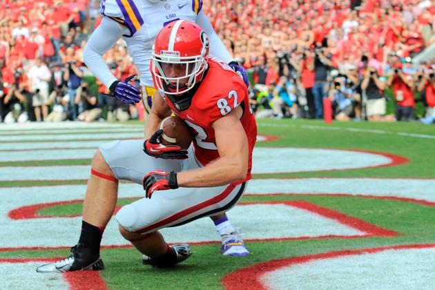 WR Bennett Assisted off with Leg Injury vs. Vols