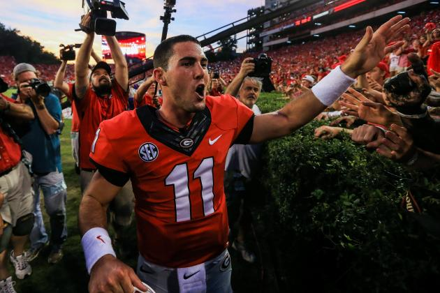 Where Does Georgia's Aaron Murray Rank Among All-Time Great SEC Quarterbacks?