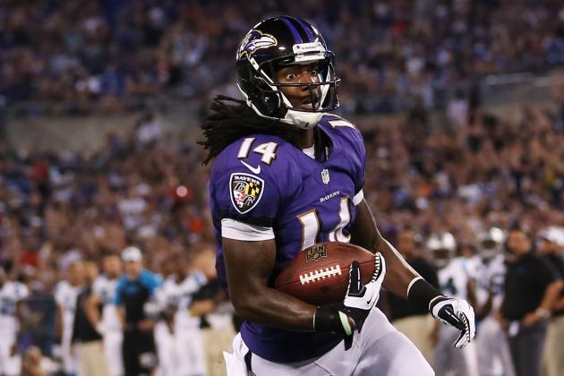 Ravens Obviously Trust Young Receivers