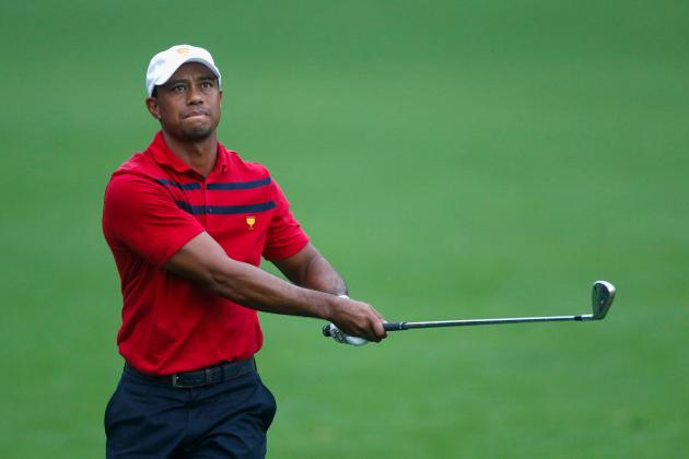 Tiger Woods at Presidents Cup 2013: Day 3 Recap and Twitter Reaction