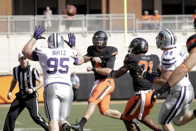 Kansas State vs. Oklahoma State: Pokes Win, but There's a Lot to Clean Up