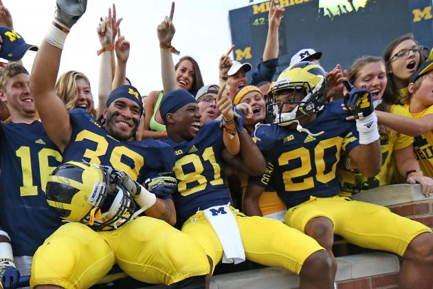Devin Gardner Avoids Turnovers as Wolverines Roll in Big Ten Opener