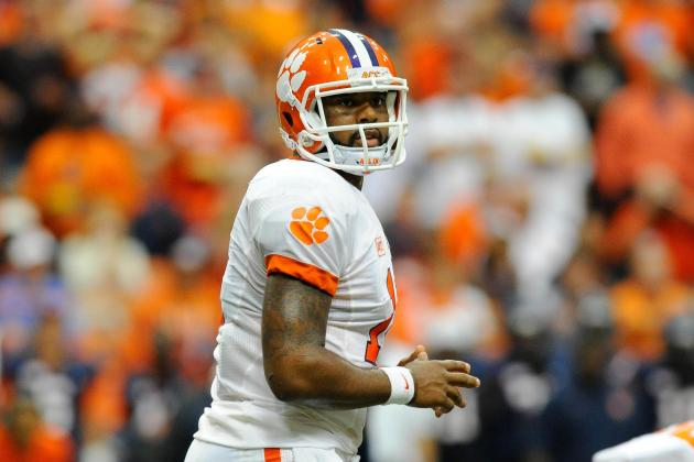 Tajh Boyd's Updated 2013 Heisman Outlook After Win Against Syracuse