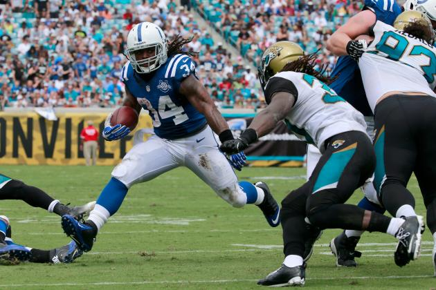 Trent Richardson, Running Game Only Way Colts Can Upset the Seahawks