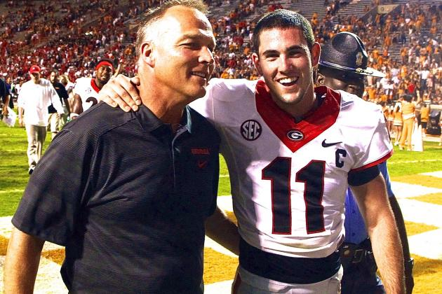 Georgia QB Aaron Murray Cements Legacy with Performance vs. Tennessee