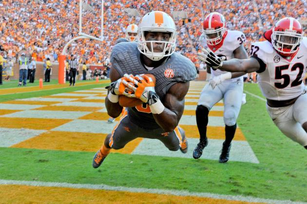 Georgia vs. Tennessee: Butch Jones Has Vols on Way to Becoming SEC Contenders
