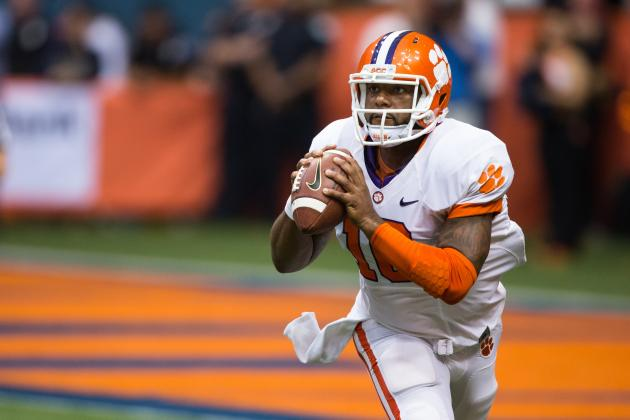 Clemson vs. Syracuse: Tajh Boyd Makes Heisman Statement with 455 Yards, 5 TDs