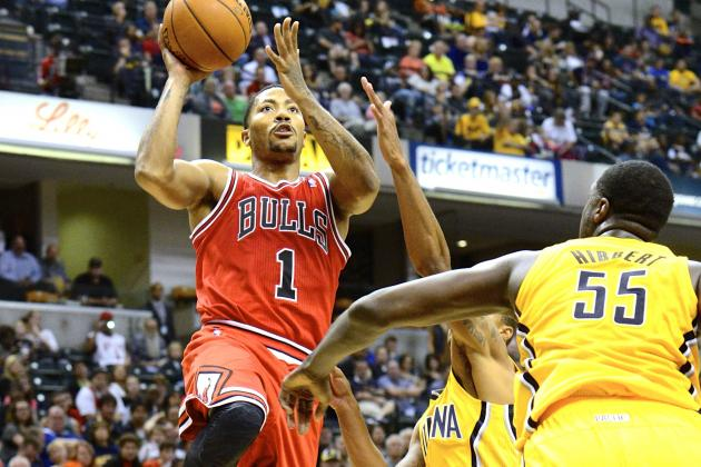 Derrick Rose Return: Grading Bulls Star's 1st Performance Since Knee Injury