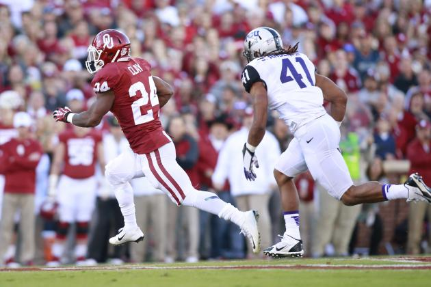 Sooners Down Horned Frogs 20-17