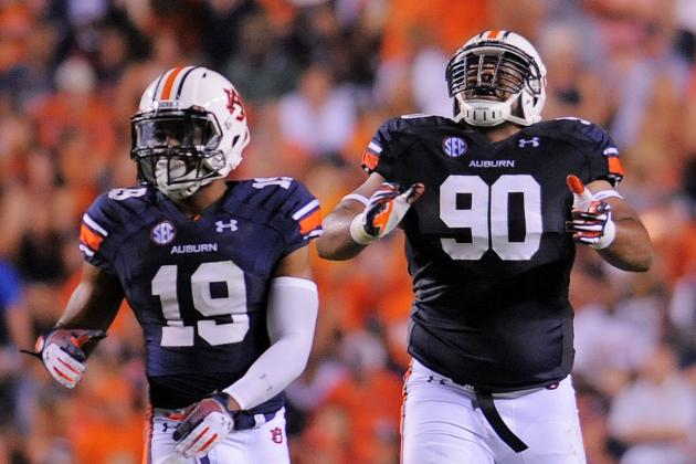 Auburn Football: Tigers Use Run Game and Defense to Outlast Rebels