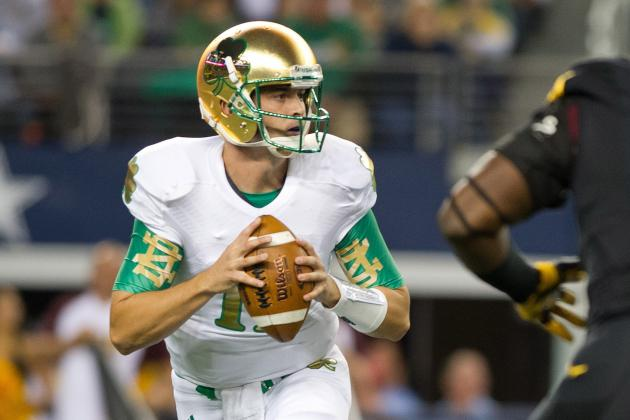 Tommy Rees' Big Game vs. Arizona State Proves Malik Zaire Must Remain on Bench