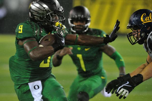 Byron Marshall Coming into His Own for the Oregon Ducks