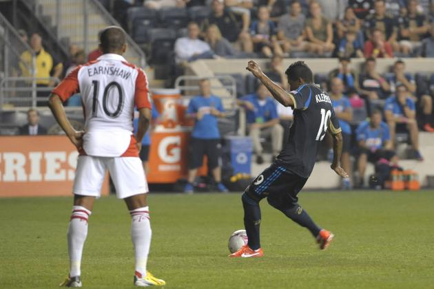 GOAL: Kleberson Sends PPL Park into Raptures with a Last-Minute Free Kick