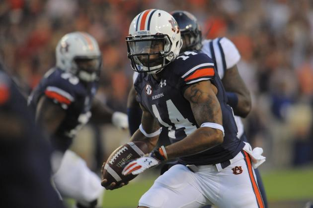 Unable to Stop Nick Marshall, Johnny Manziel Poses Major Challenge for Rebels