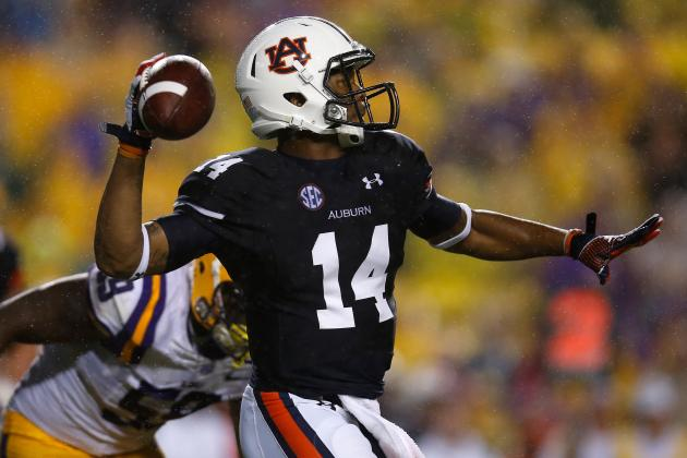 Auburn's Nick Marshall Not Concerned About Injured Right Knee