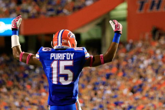 Florida's Loucheiz Purifoy Reminds Us Why He Will Be a 1st-Round NFL Draft Pick
