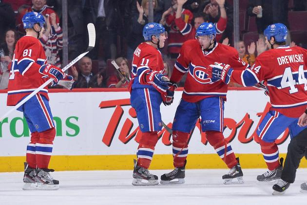 Eller and Gallagher Goals Lift Canadiens Past Punchless Flyers