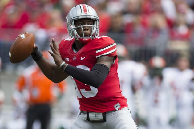 Meyer Says He Was 'really Close' to Subbing Kenny Guiton in Buckeyes' Win