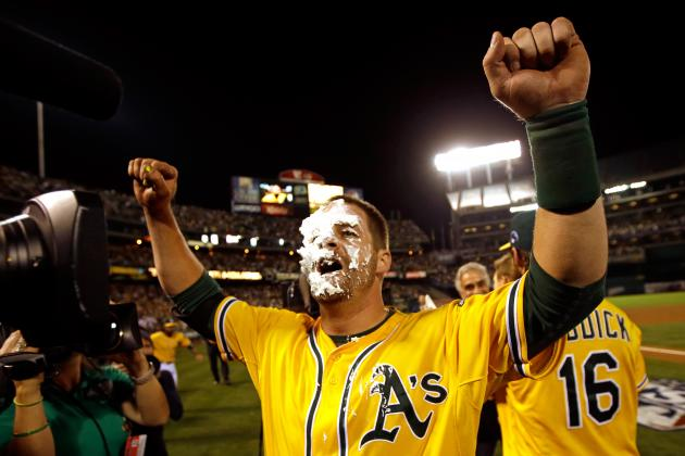 Tigers vs. Athletics Video: Watch Stephen Vogt Win Game 2 with Walk-off Single