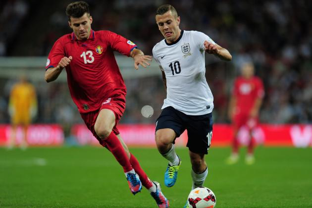 Arsenal's Jack Wilshere Has Full Backing of England Boss Roy Hodgson