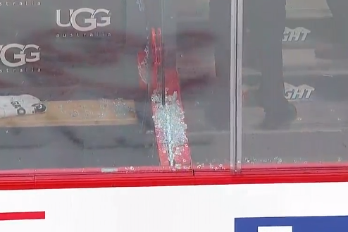 Josh Gorges Breaks the Glass Video