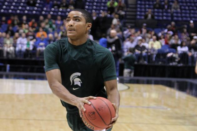 Mich. St.'s Harris (Ankle) at 'About 75 Percent'