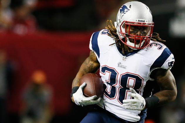 Brandon Bolden's Updated Week 5 Fantasy Outlook After Stevan Ridley's Injury