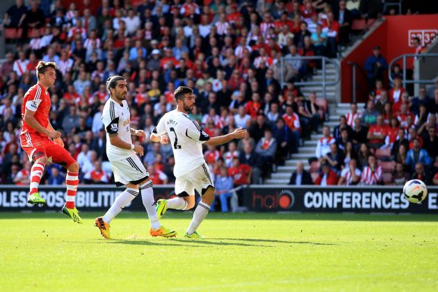 GIF: Jay Rodriguez Scores to Make It 2-0 in Southampton vs. Swansea