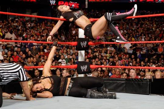 WWE Star AJ Lee Exclusive: Her Tattoo, Total Divas Heat and Shooting on Lawler