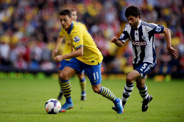 West Bromwich Albion vs. Arsenal: Score, Grades and Post-Match Reaction