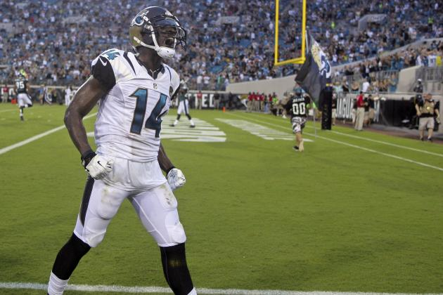 Justin Blackmon's Instant Fantasy Reaction After Week 5 Performance vs. Rams