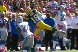 Randall Cobb Made a Sick One Handed Catch