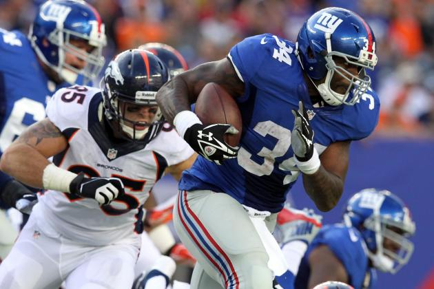 Brandon Jacobs vs. Michael Cox: Fantasy Outlook After David Wilson's Injury