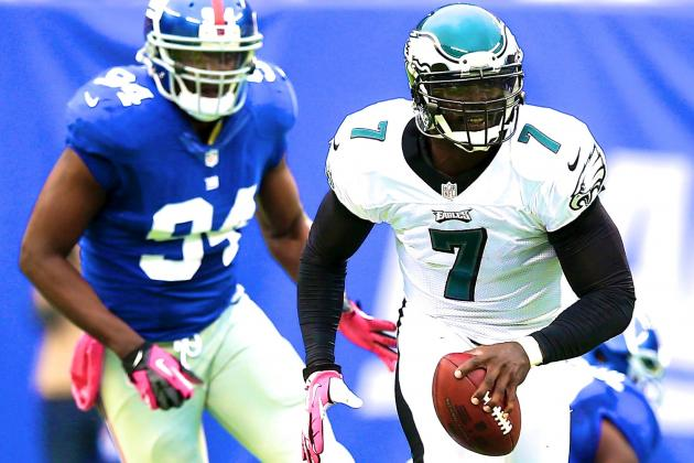 Michael Vick Injury: Updates on Philadelphia Eagles QB's Hamstring and Recovery