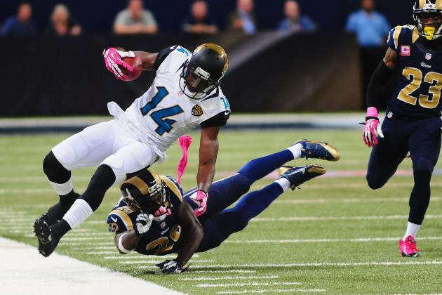 Justin Blackmon's Return Will Have Major Impact on Jaguars' Offense