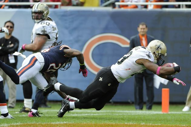 Pierre Thomas' Instant Fantasy Reaction After Week 5 Performance vs. Bears