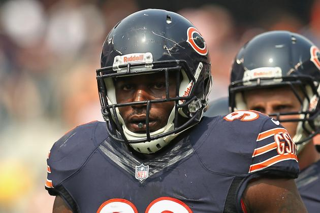 Bears Defensive Tackle Nate Collins out with Knee Injury