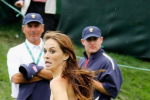 Female Streaker Crashes Presidents Cup