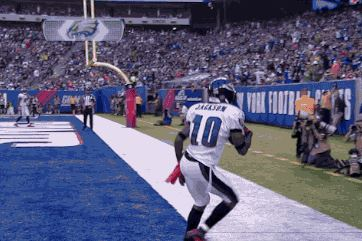 Eagles' DeSean Jackson Mocks Giants' Victor Cruz with Salsa Dance After TD